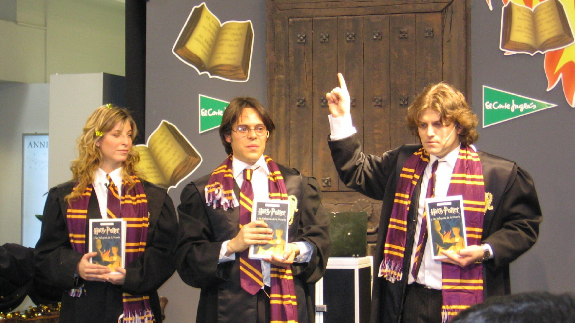 Evento Magia Promocional Harry Potter